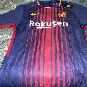 2017-2018 Barcelona home match jersey
